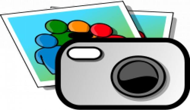 626x363 Camera Clipart Vector Free Download
