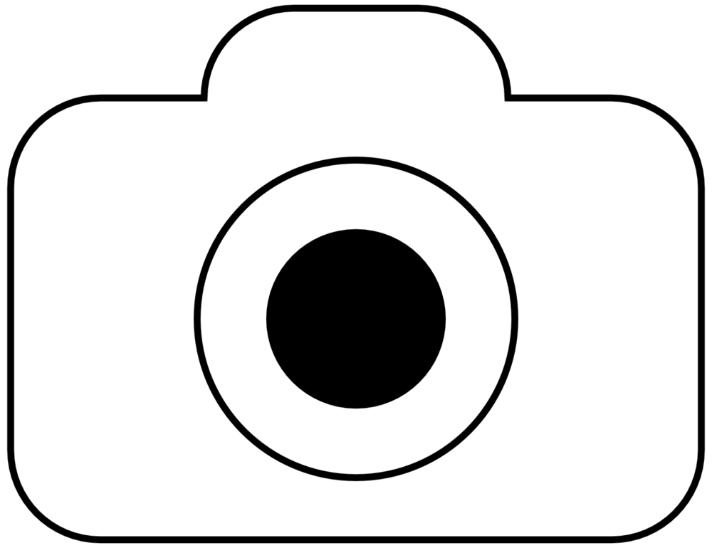 1000x770 Camera Clipart Black And White
