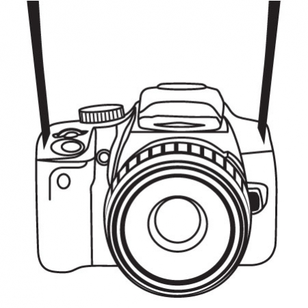 450x450 Camera Clipart Camera Sketch