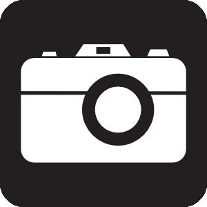 300x300 Camera Black Clip Art