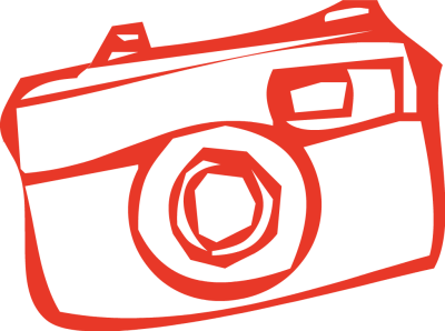 400x298 Camera Clipart Red