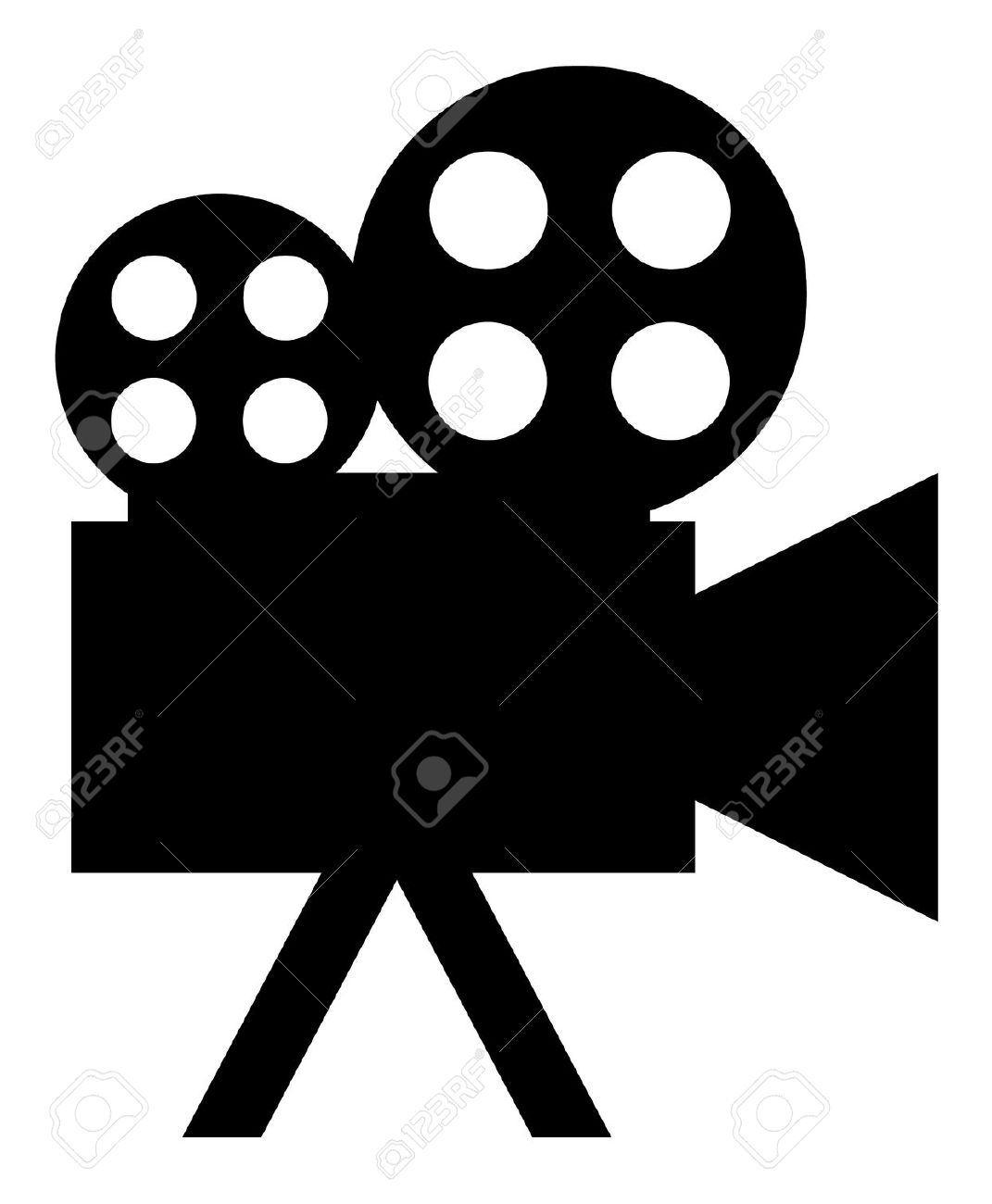 1071x1300 Movie Camera Clipart