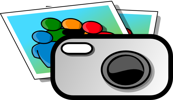 600x348 Digital Camera Clipart