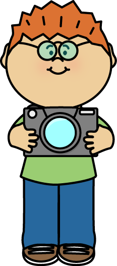 232x527 Free Boy Holding A Camera By Mycutegraphics Clip Art Kids