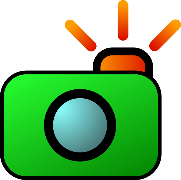 594x588 Green Camera Art Png, Svg Clip Art For Web