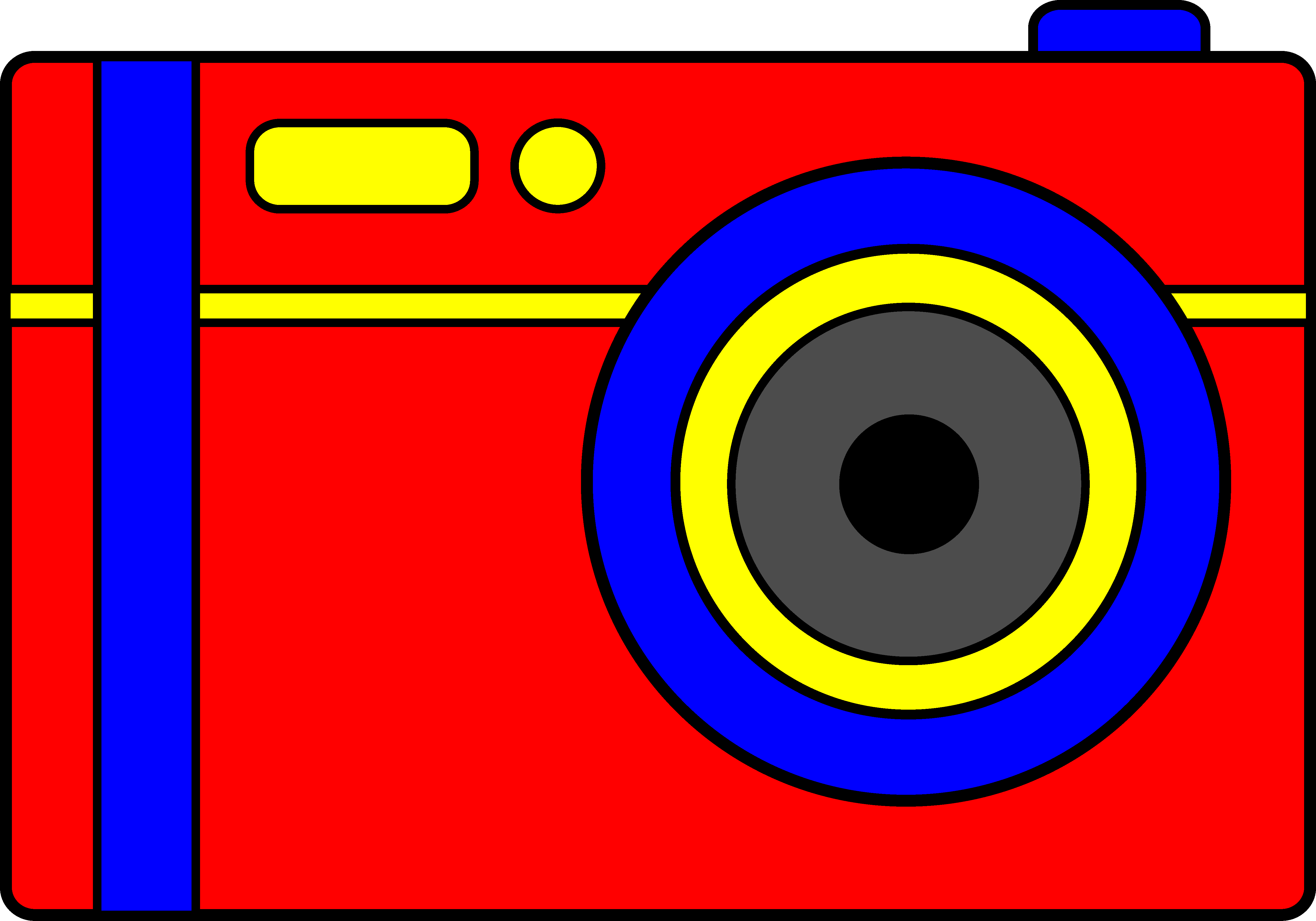 5085x3560 Simple Red Digital Camera