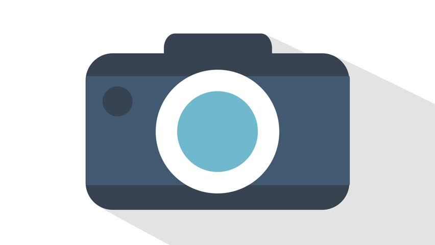 852x480 The Appearance Vector Of The Camera. Cartoon Graphics. The Green