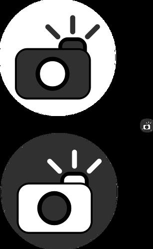 307x500 Camera With Flash Icon Vector Clip Art Public Domain Vectors