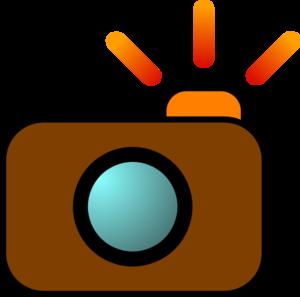 300x297 Camera Brown Clip Art