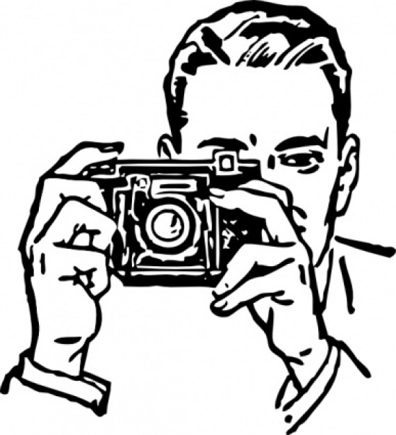 570x626 Drawn Camera Illustration