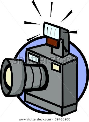 344x470 Flashing Camera Clip Art