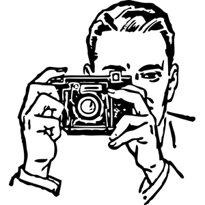 300x300 Man With A Camera Clipart, Cliparts Of Man With A Camera Free