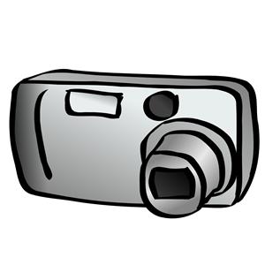 300x300 Digital Camera (Compact) Clipart, Cliparts Of Digital Camera