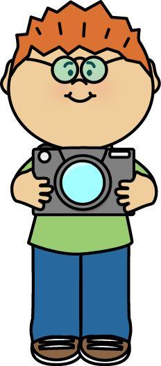 232x527 Girl Photographer Imprimir 3 Photographers, Clip