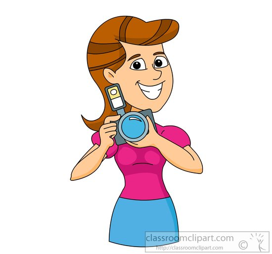 550x514 Occupation Clipart Photographer With Digital Camera Clipart 6229