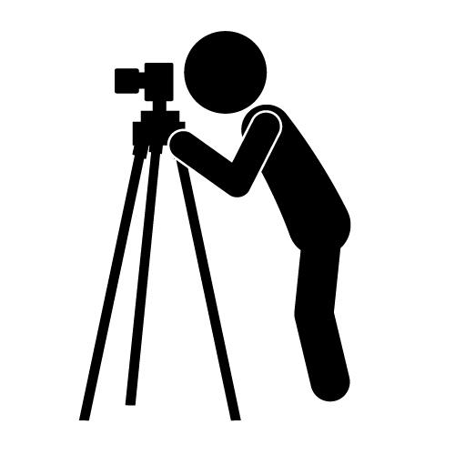 500x500 Photography Clipart Camera Tripod