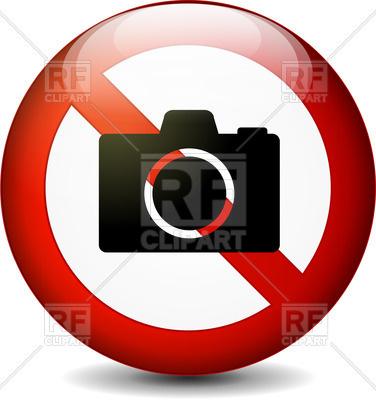 376x400 Prohibitory Sign No Photos