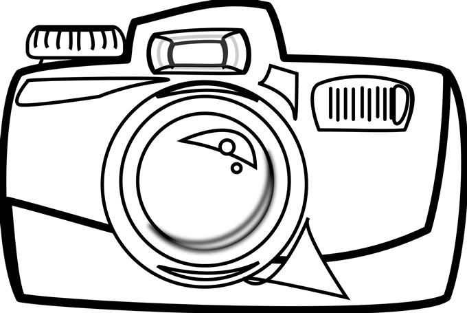 680x455 Yearbook Camera Clipart