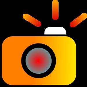 300x300 Camera Flash Clipart Image