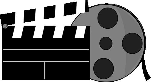 500x272 Movie Film Clip Art