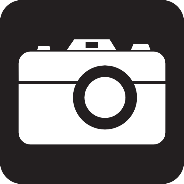 600x600 Camera Icon Clipart
