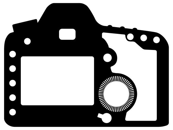 600x450 Dslr Clipart Vector