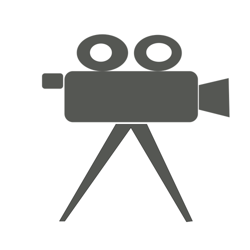 500x500 Movie Camera Vector Image Public Domain Vectors
