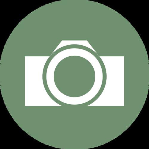 500x500 Round Camera Label Vector Clip Art Public Domain Vectors