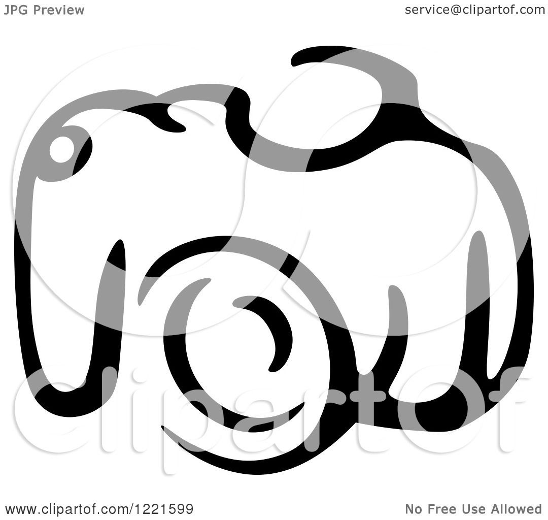 1080x1024 Clipart Of A Black And White Camera 17