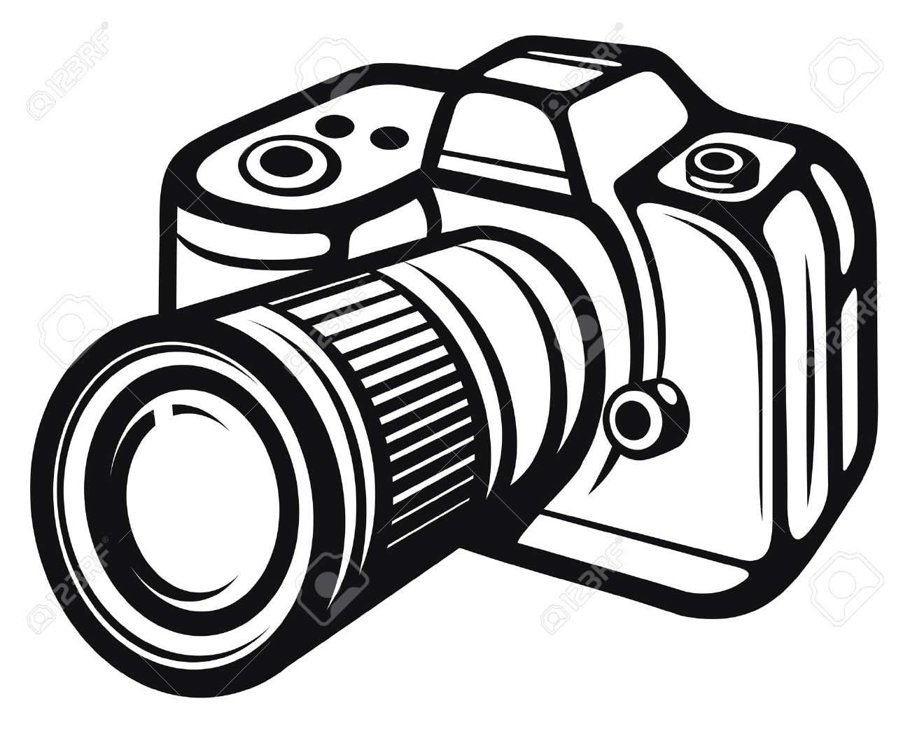 1300x1051 Compact Digital Camera Digital Photo Camera Royalty Free Cliparts