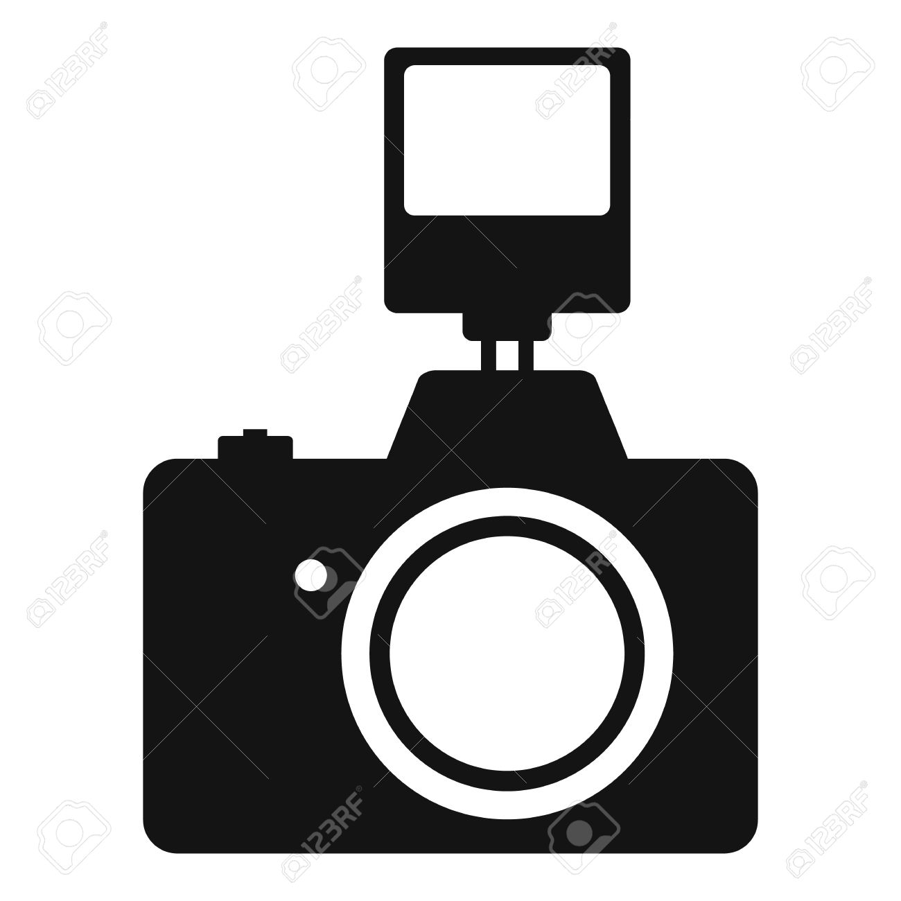 1300x1300 Dslr Clipart Camera Flash