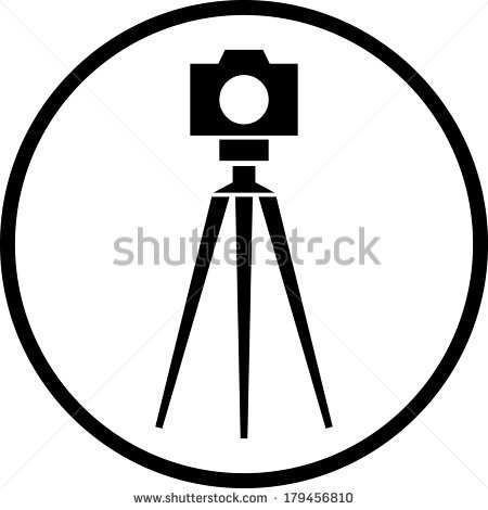 450x470 Dslr Clipart Camera Tripod