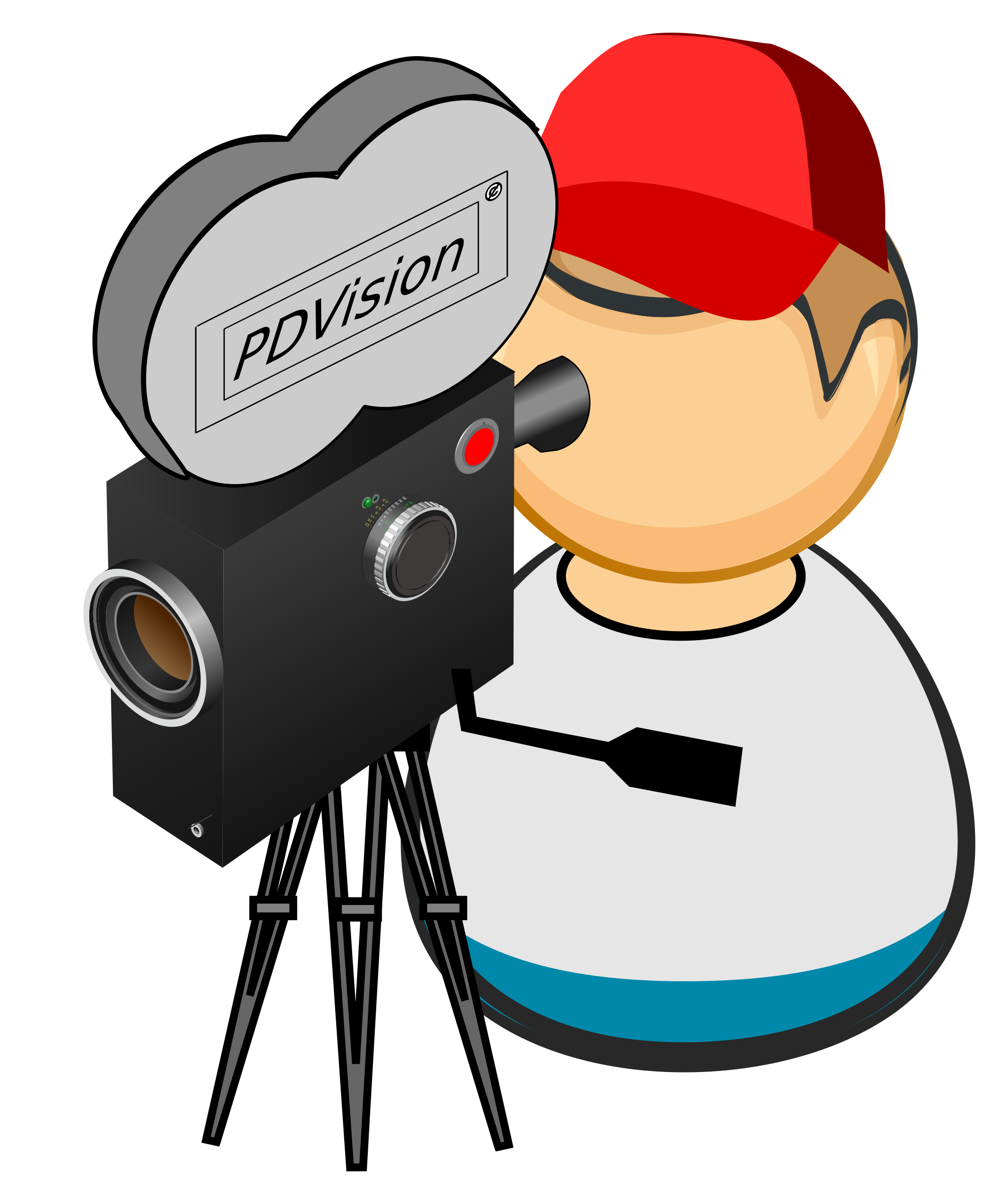 2009x2400 Free Stock Photo Of Camera Man Vector Clipart
