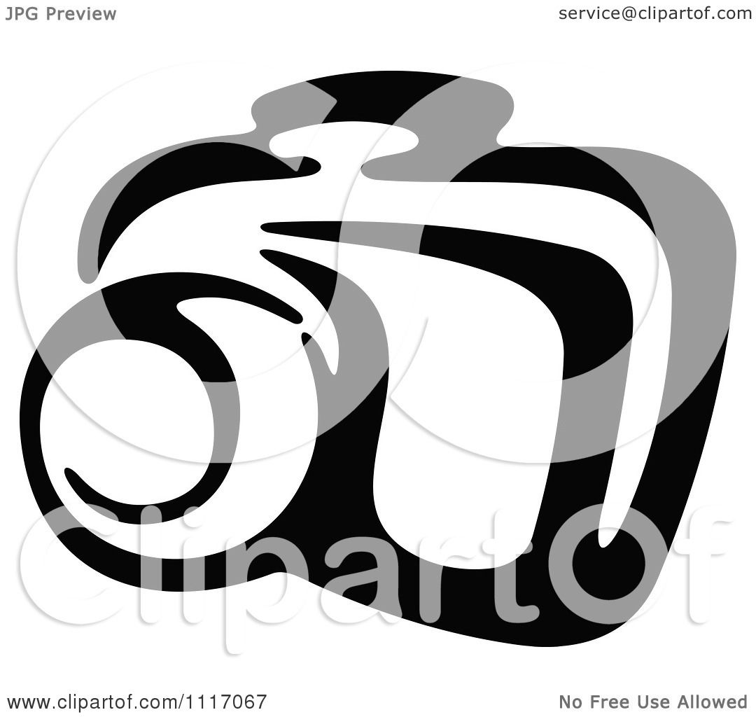 1080x1024 Vector Clipart Black And White Camera 4