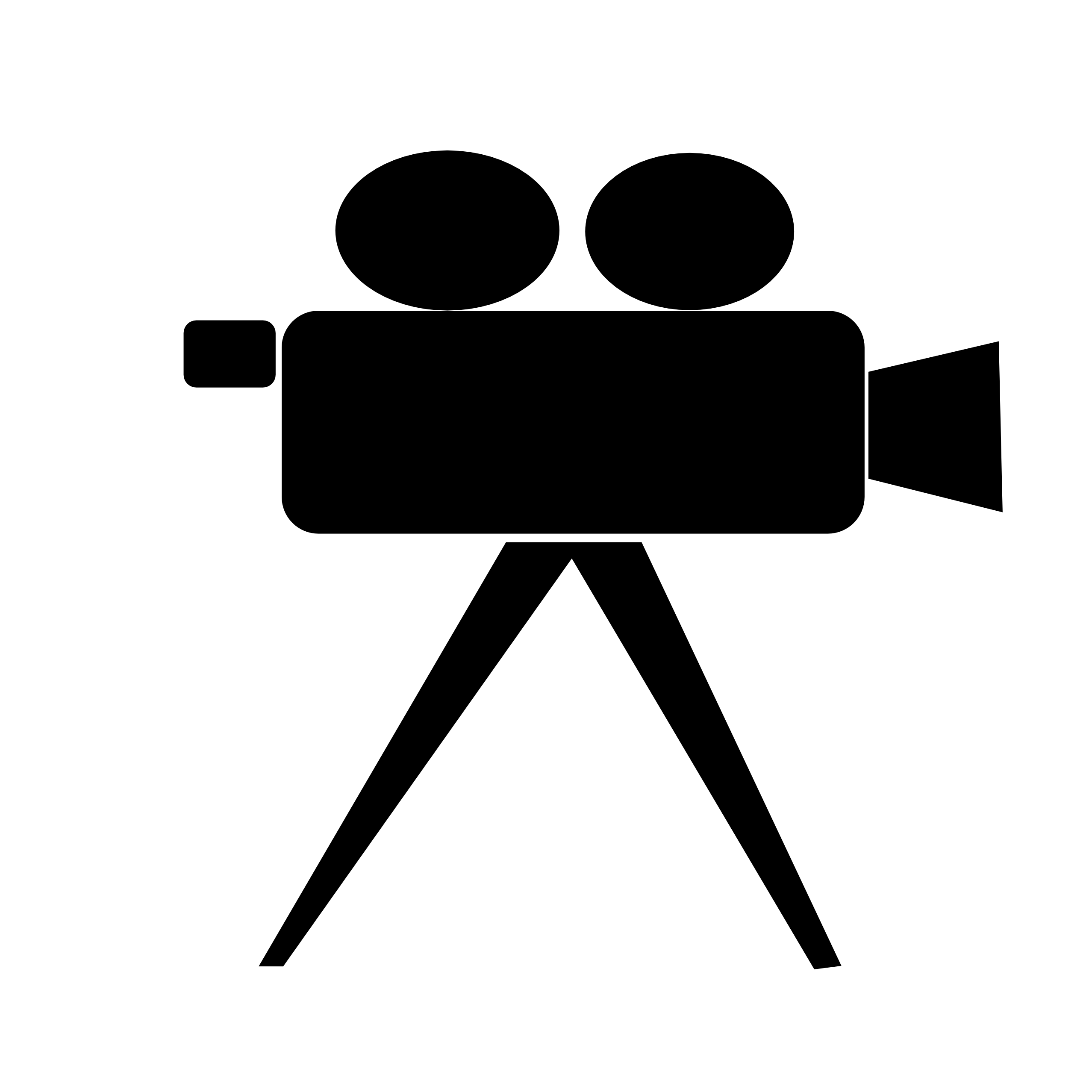 2555x2555 Video Camera Clip Art