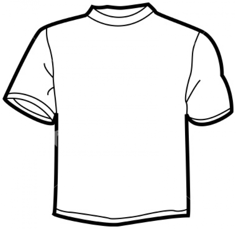 820x794 Picture Of A White T Shirt Clipart Best In Cotton T Shirt Clipart