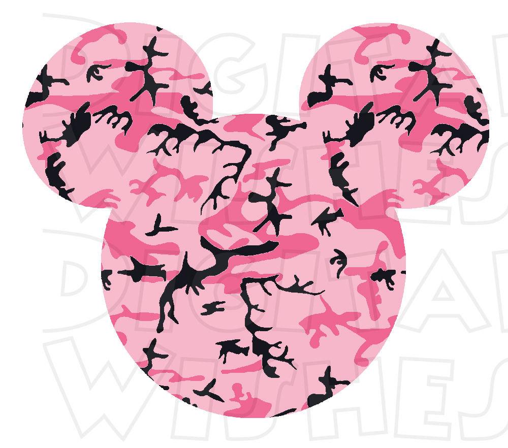 1000x882 Camo Clipart Mickey Mouse