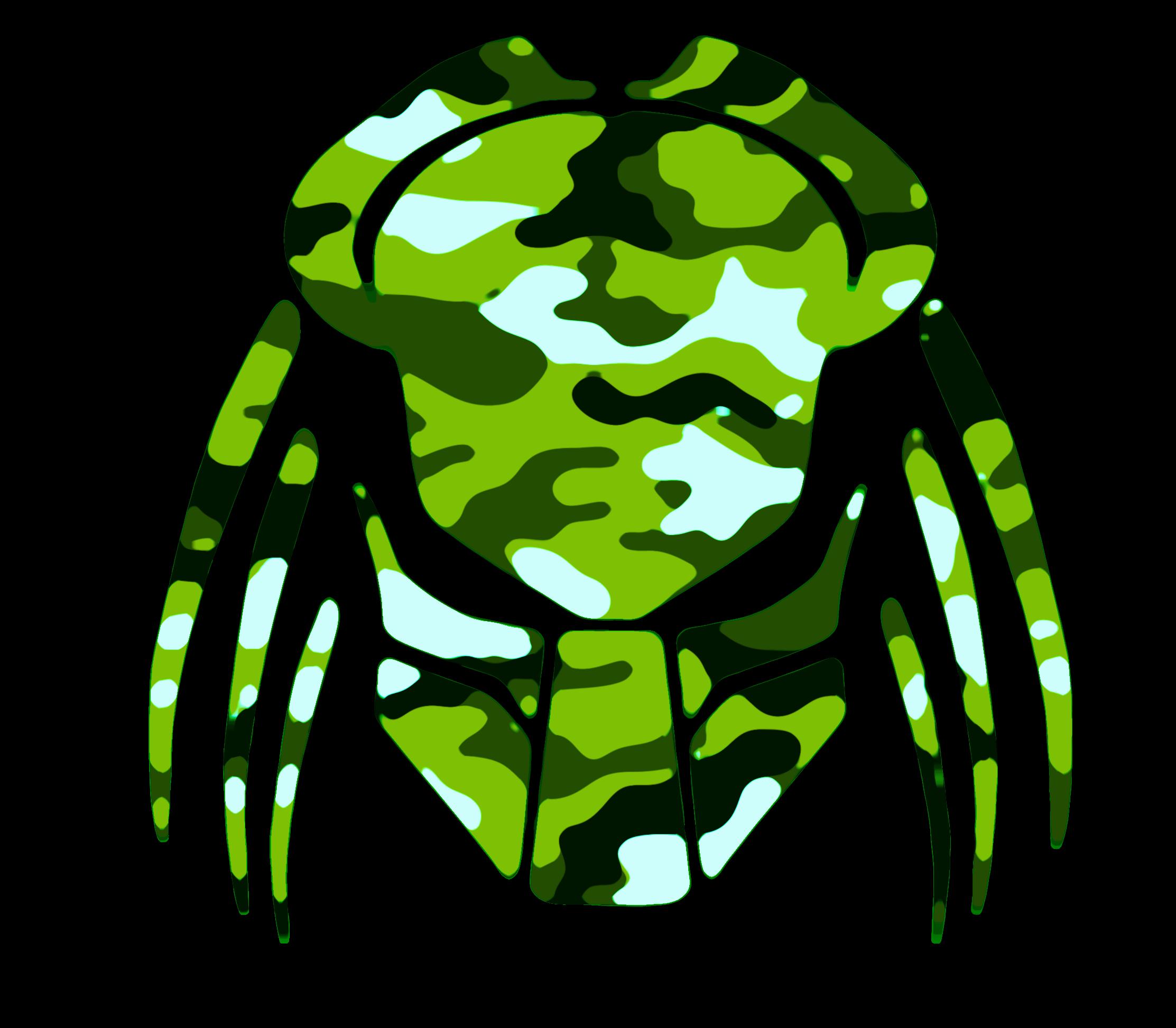 2225x1946 Cybergoth Cut Lime Green Camo Cut Free Images
