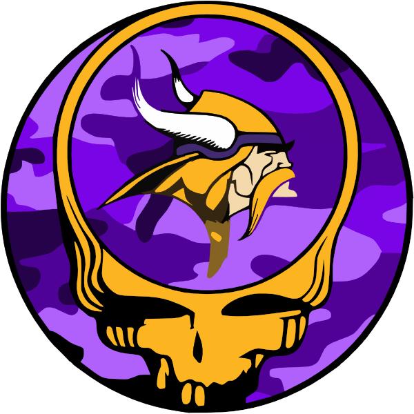600x600 Grateful Dead Logo Purple Camo Yellow Skull Clip Art