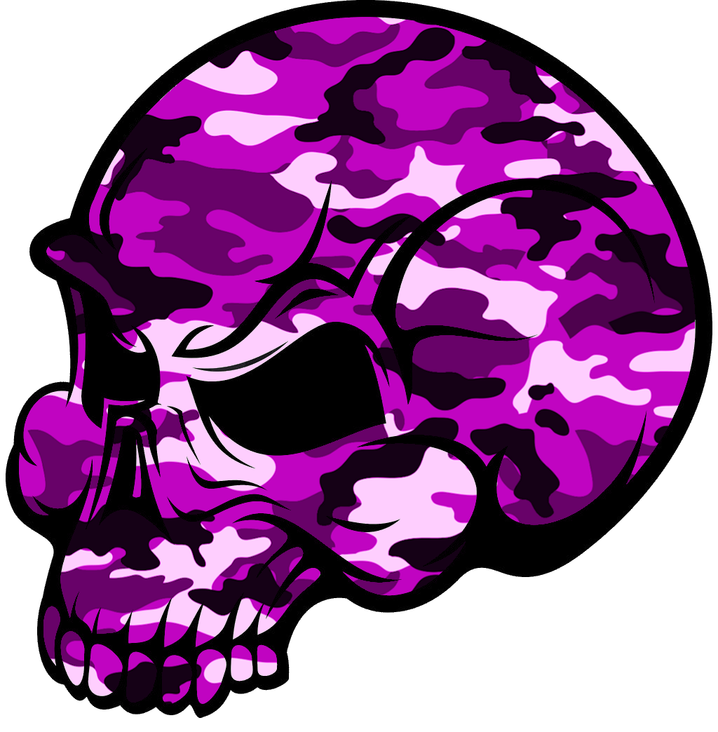 1024x1044 Skull Pink Camouflage Free Images