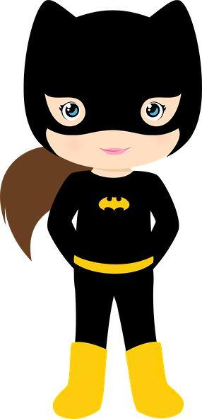 286x591 Batgirl Clipart Camo