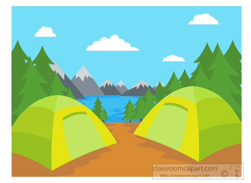 500x364 Free Camping Clipart