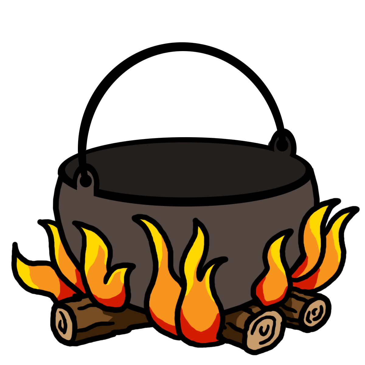 1200x1200 Campfire Camp Fire Clipart 3 Image 2