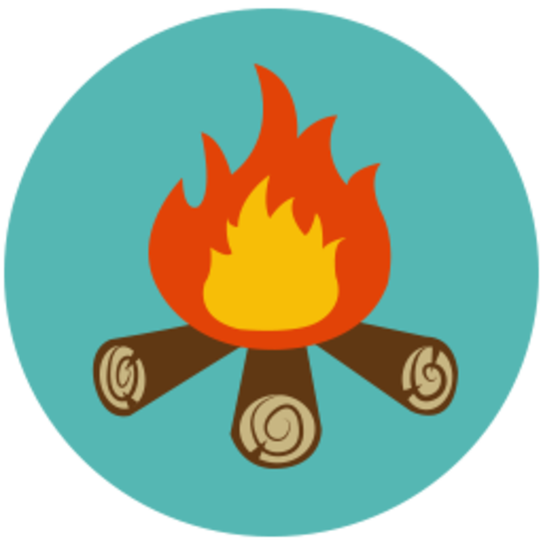 600x600 Camp Fire Clipart Many Interesting Cliparts