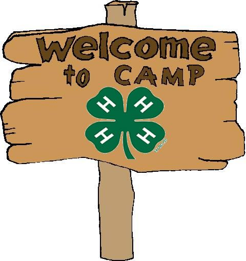 480x509 4 H Camp Sign 4 H Graphics Clip Art And Craft