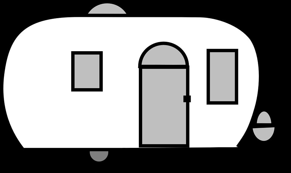 960x571 Camper Silhouette Cliparts 185883