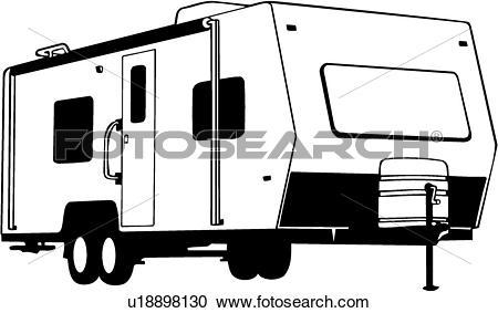 450x283 Camper Clipart