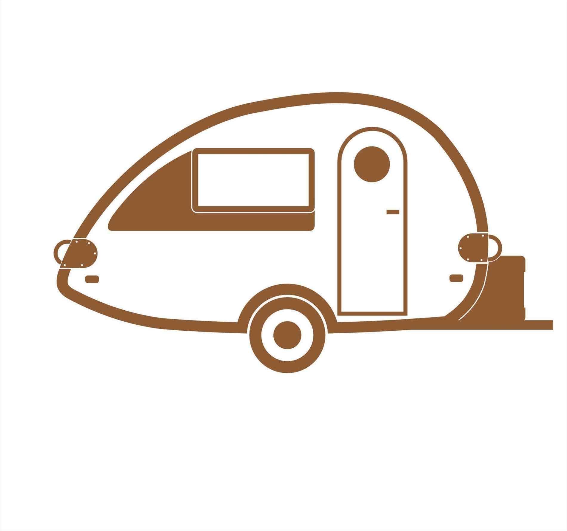 1900x1781 Camping Trailer Clip Art