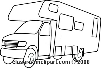 350x235 Camper Clipart Black And White Clipart Panda