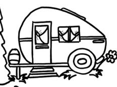 232x173 Camper Clipart